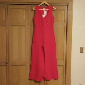 Rolla Coster NWT Red Wide Leg Jumpsuit
